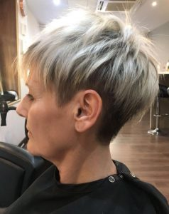 picture of short pixie crop hair style