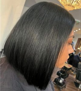picture short hair extensions bob